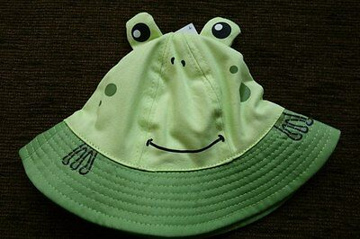 Boys' Fancy Summer Frog Hat 6-12 Months New with tags Matalan