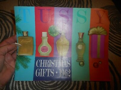 Vintage Store Catalog 1962 Tussy Christmas
