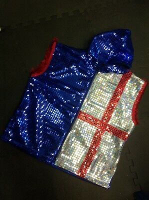 st george sequin boxing ring jacket