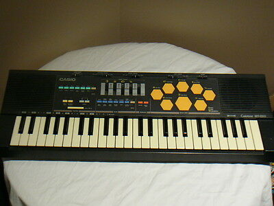 Casio Casiotone MT-520 Synthesizer Electronic Keyboard Drums 1987 Vintage Tested