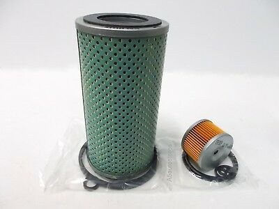 Oil & Fuel Filter for Lister Petter JK  from 1965 with cartridge filter elements