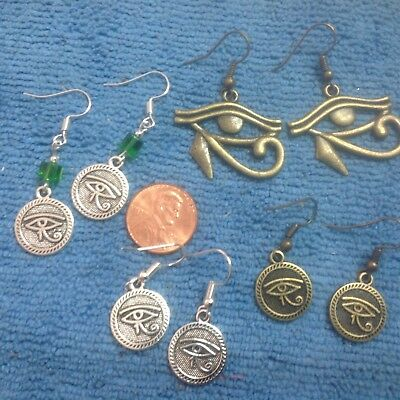 The Mystical  & Magical Eye Of Horus Ancient Egyptian Type Earring