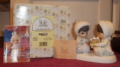 """1995 Precious Moments """"I Only Have Ice For You"""" Figurine with Box by Enesco"""