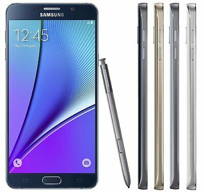 Samsung Galaxy Note 5 32GB 4G LTE Android T-Mobile No Contract
