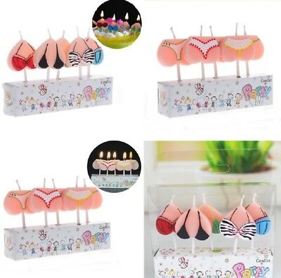 Bikini Underwear Birthday Candle 18th 21st Hen Party Stag Party