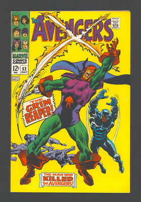 """The AVENGERS #52, #53, #54 """"1968"""". The BLACK PANTHER Joins The AVENGERS in #52."""