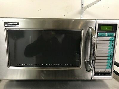 SHARP 21LV, Medium Duty, Commercial Microwave Oven 1000 Watts Used