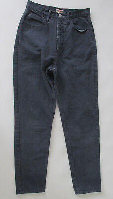 Vintage 90s Guess Jeans by Georges Marciano Dark Gray Men's Unisex Jeans