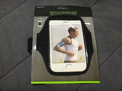 E-CIRCUIT ARMBAND CASE for Cell Phone Jogging Unisex