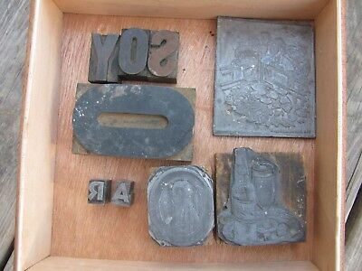 Lot Antique Advertising Printing Plates Metal Blocks Newspaper Old Vintage Ad & LOT ANTIQUE ADVERTISING Printing Plates Metal Blocks Newspaper Old ...