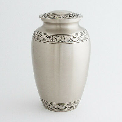 """Cremation Urn for Adults Size Large 10.5"""" - Classic urn for ashes"""
