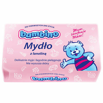 Bambino, soap for children with lanolin, 90 g.  Mydlo Bambino
