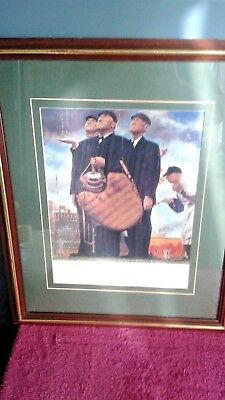 Norman Rockwell Tough Call - Bottom Of The Sixth Saturday Evening Post Print