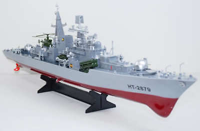 Huge Rc Warship Model Destroyer Guided Missile Frigate Rc Boats Ship Xmas Gifts