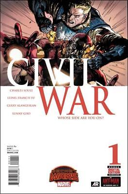 Civil War (2015)   #1 to 5 Complete   NM- to NM/M