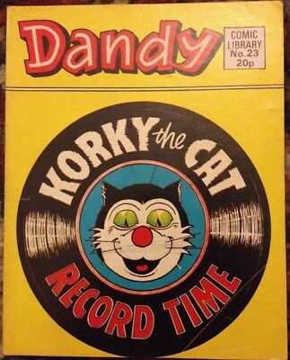 Dandy Comic Library 23 Korky the Cat Record Time