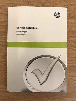 Volkswagen vw service book brand new not duplicate covers all models----