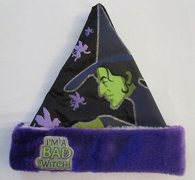 Wizard of Oz Reversible Good Witch/Bad Witch Santa Hat