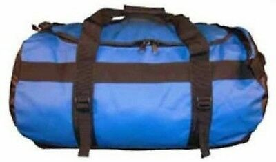 70L Pvc Duffle Bag Blue - Shoulder Straps - Sbs Zip / Utx Components Sportztrek