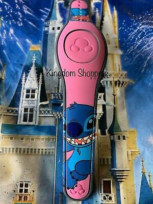 Pink Stitch MagicBand 2 Magic Band Disney Parks *Link It Later*