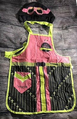 Benefit Cosmetics Hooded Air Patrol Apron for Cosplay or Artists