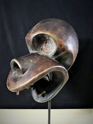 Old Tribal Bulu Mask Cameroon Fes-GB1156/GBN6