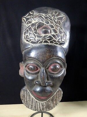 Old Tribal Bamun Mask Cameroon Fes-GB1158/GBN8