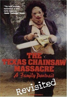 The Texas Chainsaw Massacre Family Portrait The Making Of Documentary New Dvd R4