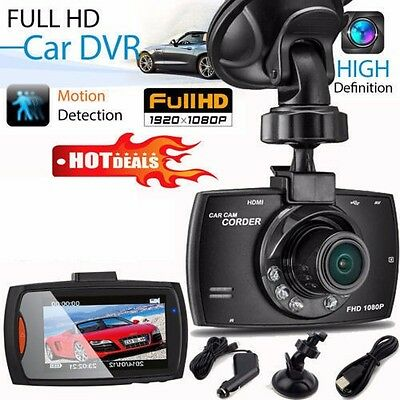 "KFZ HD 1080P 2.3"" LCD Vehicle DVR Autokamera Dashcam Car Camera Auto KameraJC"