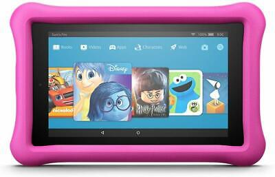 """NEW Fire 7 Kids Edition Tablet 7"""" Display, 16 GB Kid-Proof Case Bundle -3 Colors"""
