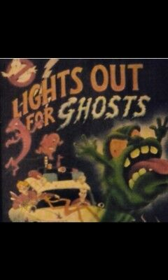 Vhtf Rare Real Ghostbusters Book