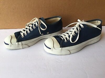 905f75484972 Vintage 1980s JACK PURCELL Converse MADE IN USA Sneakers Shoes Mens 8    Women 9