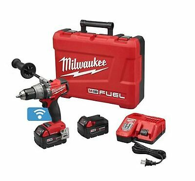 18-Volt Lithium-Ion Brushless Cordless Hammer Drill/Driver Kit Power Tool Case