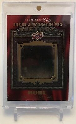 Bruce Lee 2009 Upper Deck Prominent Cuts Hollywood History Robe Card Hh-27 Sp!!!