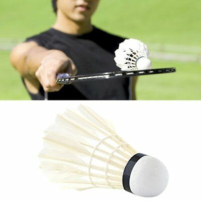 12pcs/set Professional Goose Feather Badminton Competition Gaming Shuttlecock J6