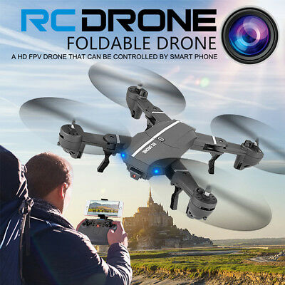 8807W Foldable Drone 2MP Wide Angle HD Camera 2.4G Wifi FPV RC Quadcopter Toy