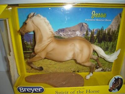 Breyer JESSE, Palomino Quarter Horse, Traditional 1:9 Scale NEW in Box