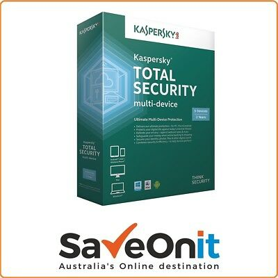 Kaspersky Pure Total Security 2018 3 PC / Device 2 Year license key