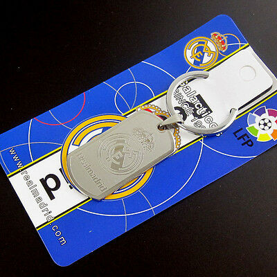 fit for real madrid soccer football fans metal keychain keyring CP 4177