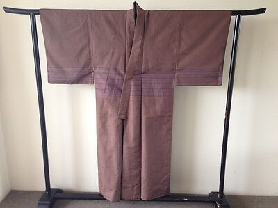Men's Vintage Japanese Silk Kimono Hand Made One of a Kind Samaurai Costume Robe