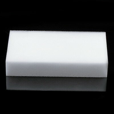 10 Pcs Magic Sponge Eraser Clean Cleaning Multi-functional Foam Cleaner White JN