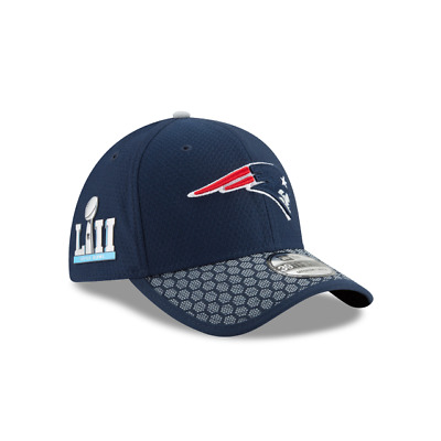 84fae5b5e New England Patriots Super Bowl Side Patch 39Thirty Flexfit Cap Fitted Hat
