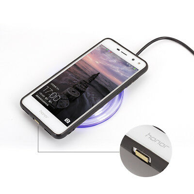 QI Wireless Fast Charger Charging Receiver Kit Module Fit iPhone Android Samsung