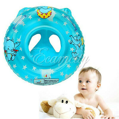 Inflatable Circle Newborn Neck Float Infant Baby Swimming Swim Ring Safety M99
