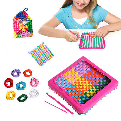 Girls DIY Educational Toys Children  Bright Lotta Loops Stretchy Woven Bag
