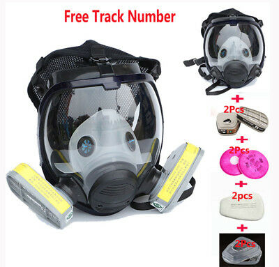 Safety Painting Spray pesticide For 6800 Gas Mask Full Face Facepiece Respirator