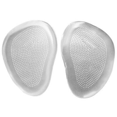 Silicone Gel Ball Foot Cushion Insoles Metatarsal Insert Pad Shoe Transparent XK
