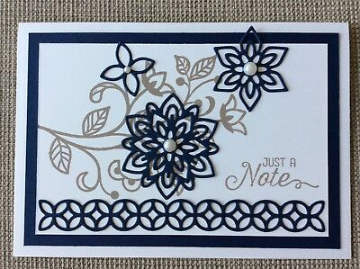 Handmade Card - Just A Note / Birthday / Any Occasion
