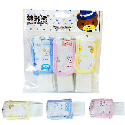 3pcs Cotton Baby Kid Snappi Diaper Fixing Fasteners Pin Clip Nappy Buckle Holder