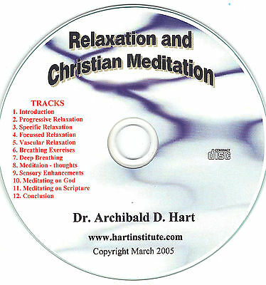 The Anxiety Cure - Relaxation Training and Christian Meditation CD